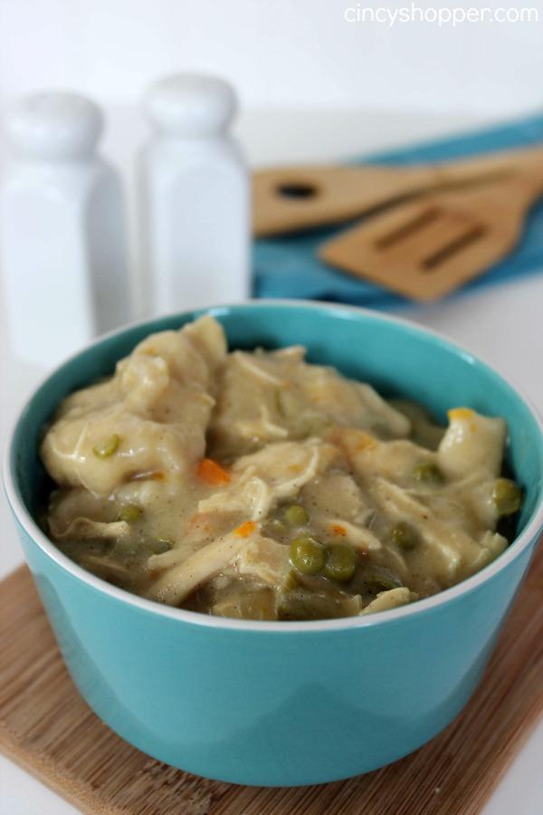 Slow Cooker Chicken and Dumpling