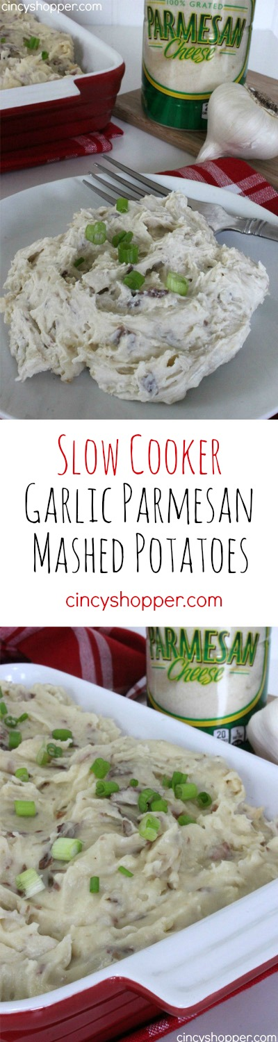 Slow Cooker Garlic Parmesan Mashed Potatoes Recipes