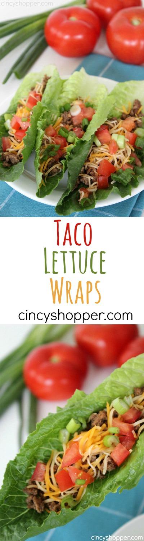 Taco Lettuce Wraps Recipes