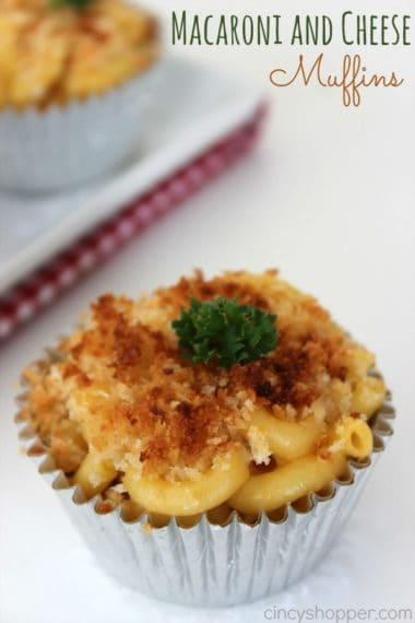 Macaroni and Cheese Muffins Recipe