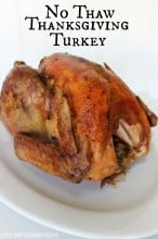 No Thaw Thanksgiving Turkey Recipe