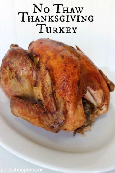 No Thaw Thanksgiving Turkey Recipe