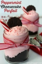 Peppermint Cheesecake Parfait Recipe