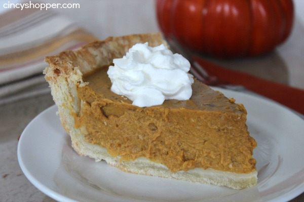 Pumpkin Pie Recipe 5