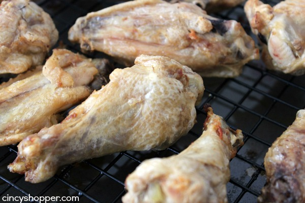Honey Chipotle Wings Recipe- Super simple no fry chicken wing with a sweet and spicy sauce that is sure to be a crowd favorite