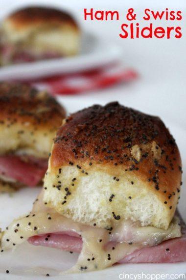 Ham and Swiss Sliders Recipe