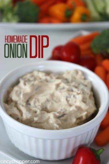 Homemade Onion Dip Recipe