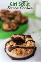 CopyCat Girl Scout Samoa Cookies