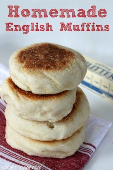 Homemade English Muffins Recipe