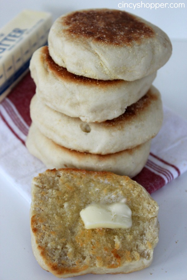 Homemade English Muffins- filled with nooks and crannies, tasting so much better than store bought!