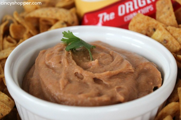 CopyCat Fritos Bean Dip Recipe- sure to save you a bundle. Just a few simple ingredients and a few minutes of time to save yourself big $$'s.