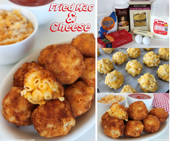 Fried Mac and Cheese FB