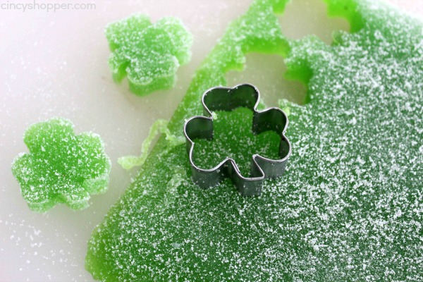 Homemade Gumdrops for St. Patrick's Day- A super easy and fun recipe that is great for just about any holiday.