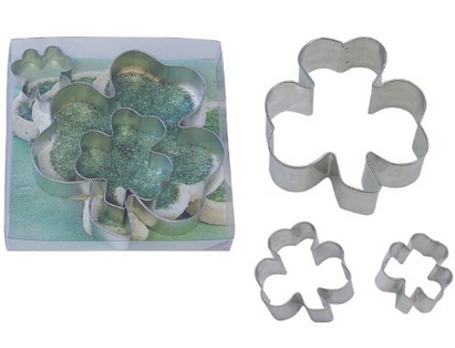 Shamrock-Cookie-Cutter Set