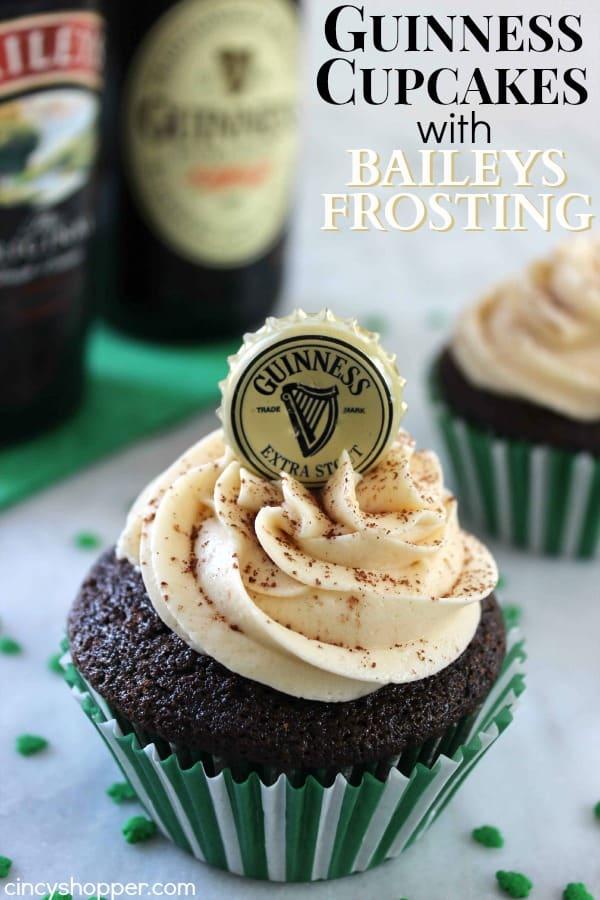 Guinness Chocolate Cake With Baileys Irish Cream Frosting