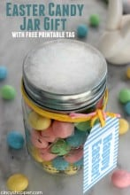 Easter Jar Gift with Candy
