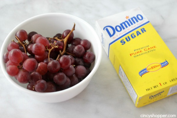 Homemade Grape Popsicles- Simple to make at home. So refreshing and so much better than store bought.