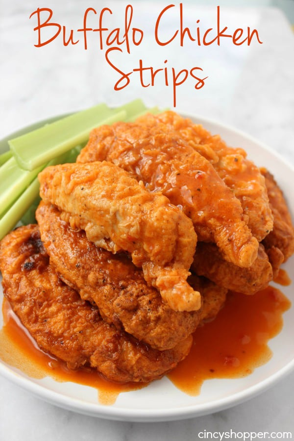 Buffalo Chicken Strips 1