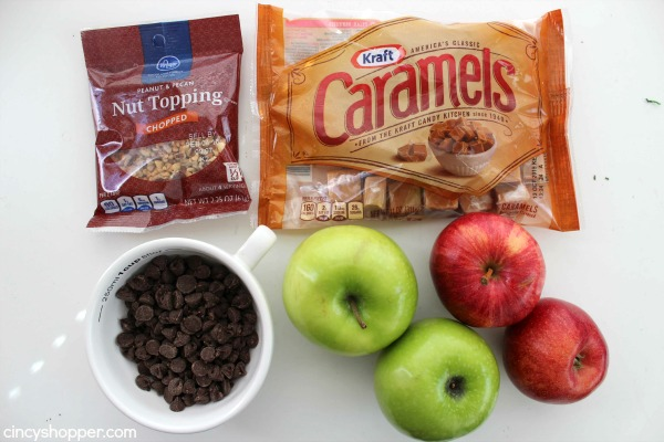 Caramel Apple Nachos -Perfect after school snack or fall treat. Super Easy!