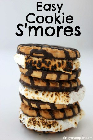 Easy Cookie S'mores 1