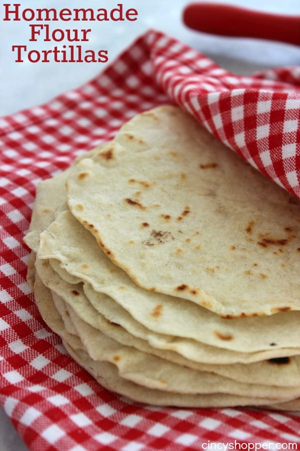 Homemade Flour Tortillas 1