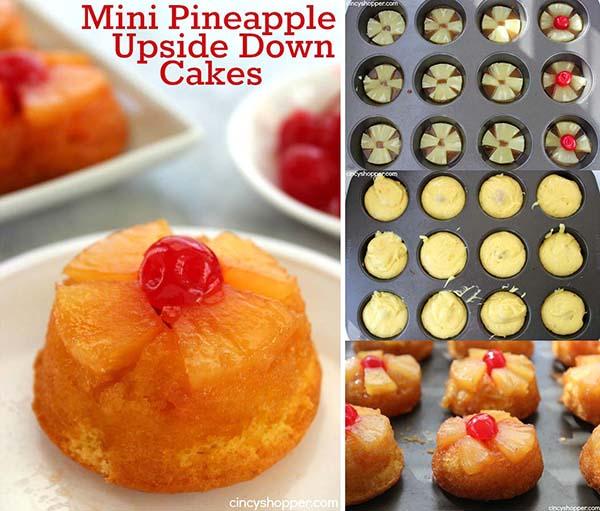 Mini Pineapple Upside Down Cakes Cincyshopper