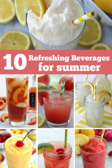 10 Refreshing Beverages for Summer