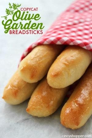 Copycat Olive Garden Breadsticks 1