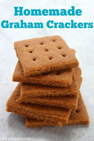 Homemade Graham Crackers 1