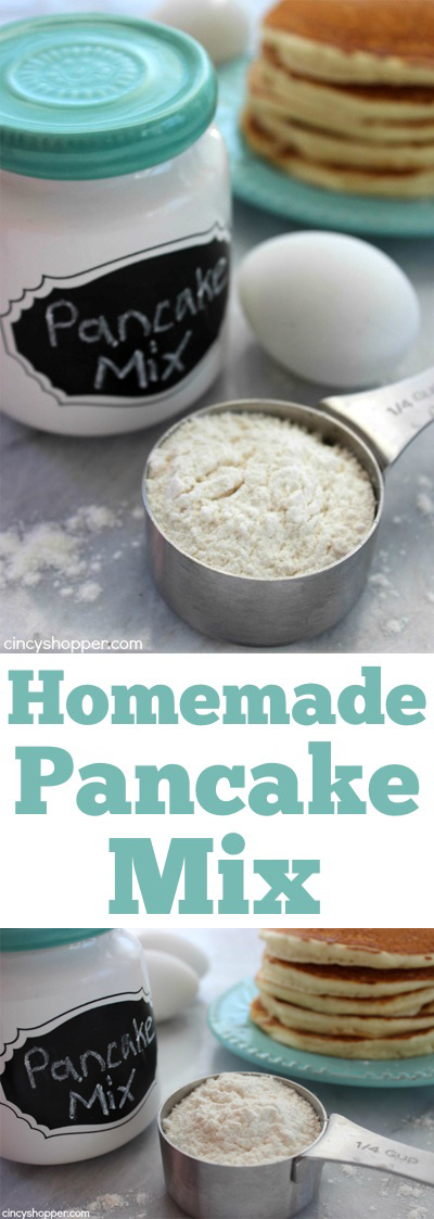 Homemade Pancake Mix Cincyshopper