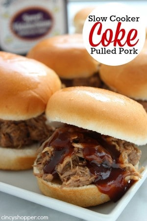 Slow Cooker Coke Pulled Pork 1