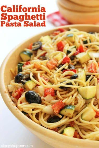 California Spaghetti Pasta Salad