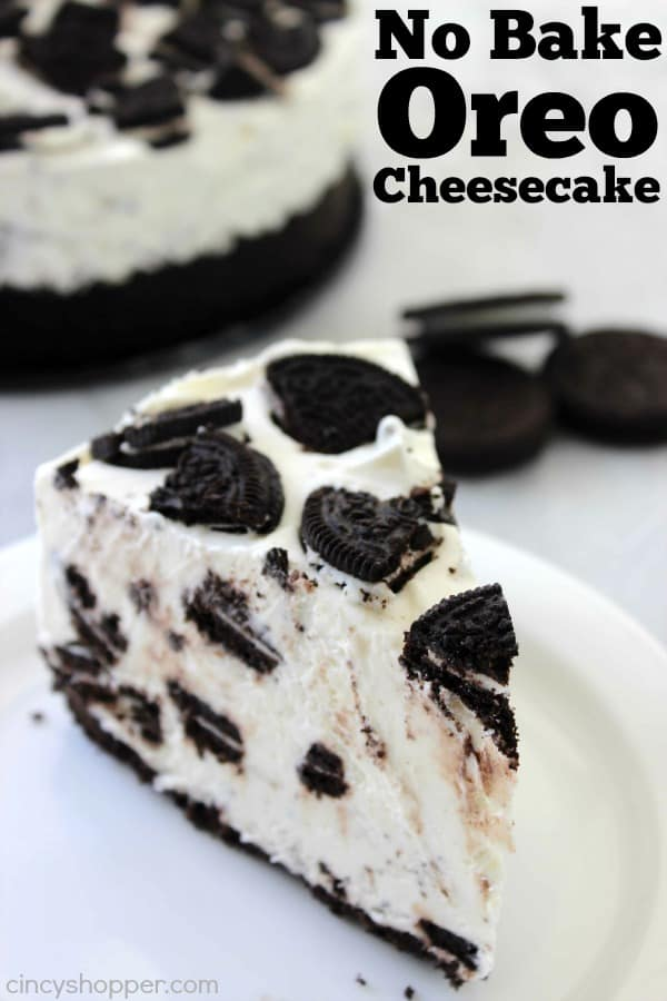 No Bake Oreo Cheesecake 1