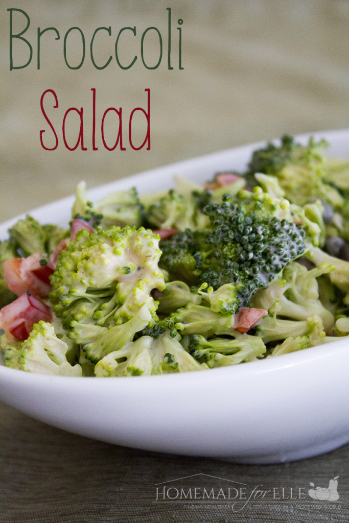 Easy Homemade Broccoli Salad