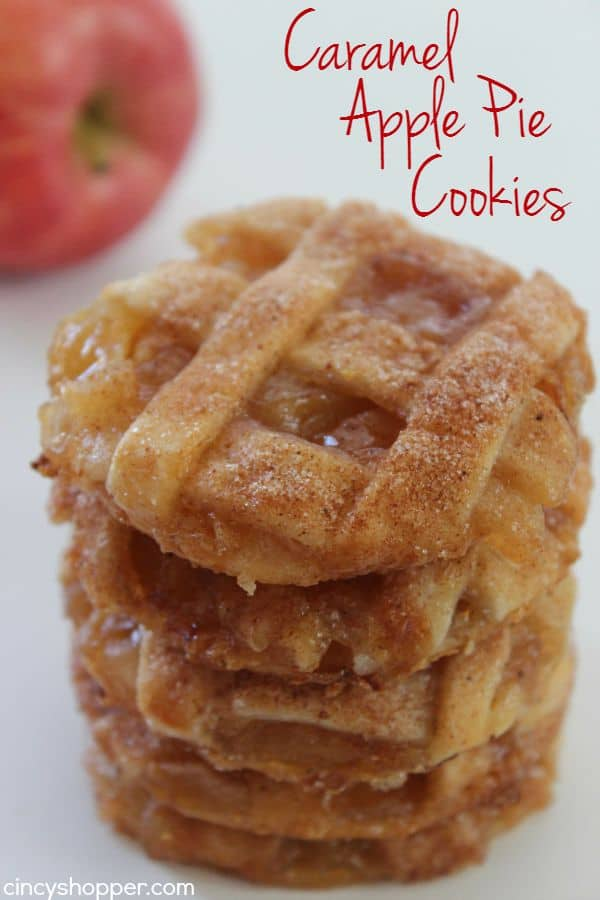 Caramel Apple Pie Cookies Cincyshopper