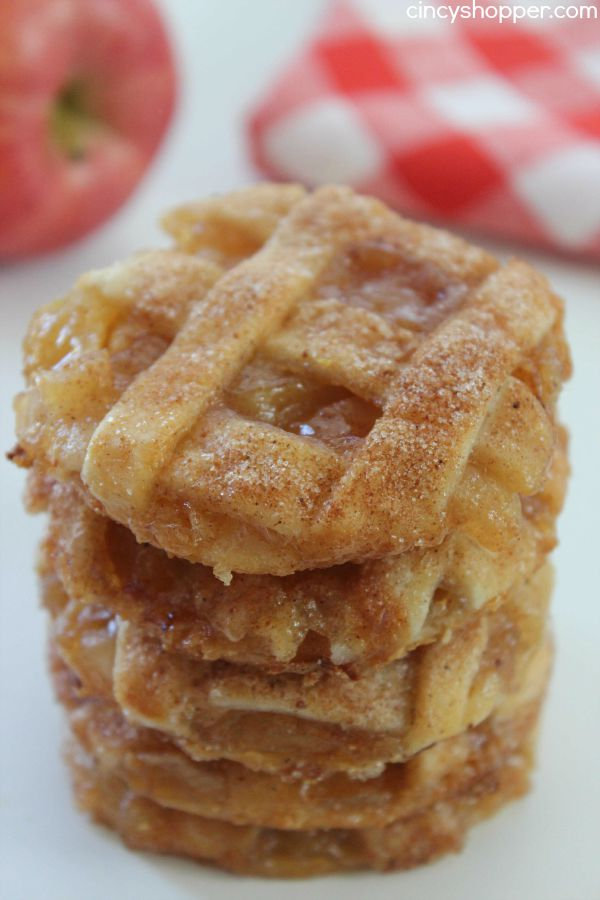 Caramel Apple Pie Cookies -Easy fall cookie. Pastry crust, warm gooey ...