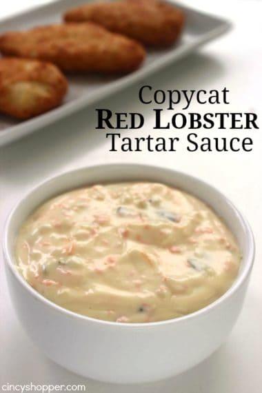 Copycat Red Lobster Tartar Sauce
