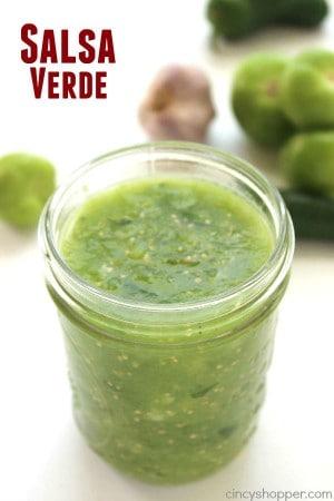 Easy Salsa Verde 1