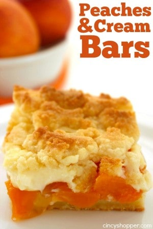 Peaches and Cream Bars 1