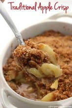 Traditional Apple Crisp 1