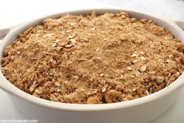 Traditional Apple Crisp 11