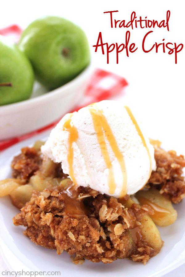 Traditional Apple Crisp 2