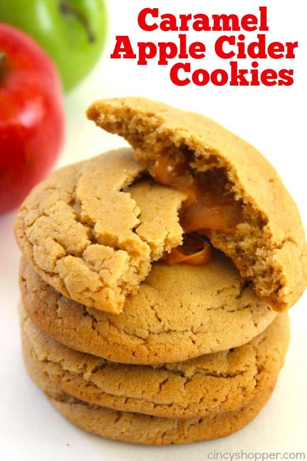 Caramel Apple Cider Cookies 1