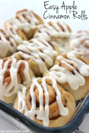Easy Apple Cinnamon Rolls 1