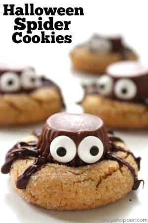 Halloween Spider Cookies 1