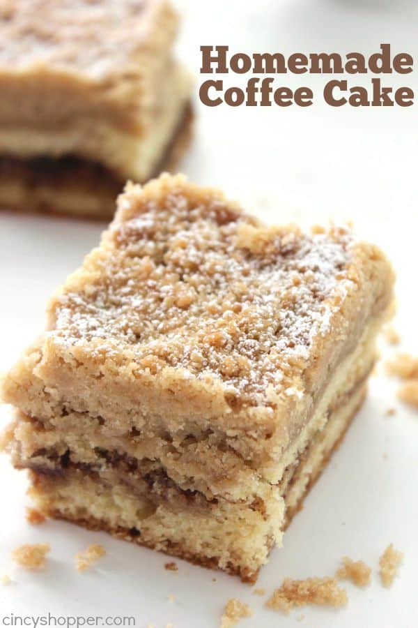 Homemade Coffee Cake Cincyshopper