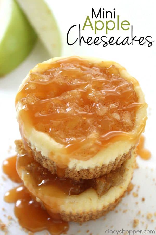 Mini Apple Cheesecakes 1