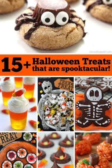15+ Halloween Treats That Are Spooktacular!