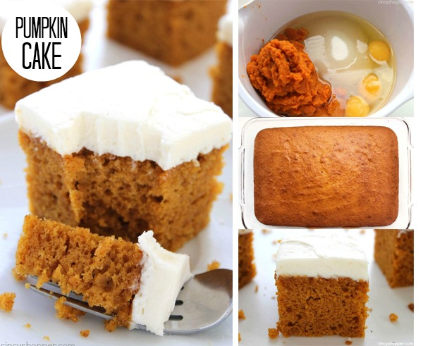 Pumpkin Cake FB
