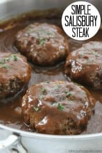 Simple Salisbury Steak 1